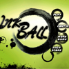 Guide the ink ball