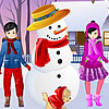 Snowing Dress Up