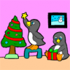 Penguins Coloring Game