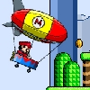 Mario Zeppelin Flying