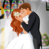 Brides First Kiss