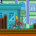Bart on his bike