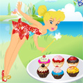 Tinkerbell Cupcakes Cooking