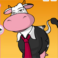 Funny Cow Dressup