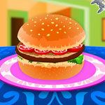 Tasty Hamburger Game