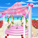 Exterior designer wedding gazebo