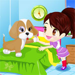 Color Girl and Cute Pet