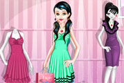 Shopping Girl Dress Up