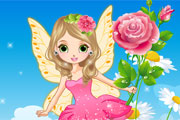 Beautiful Flower Fairy