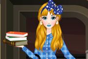 Teen Alice Back To School